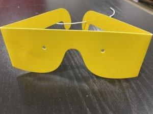 Retinitis Pigmentosa simulator glasses