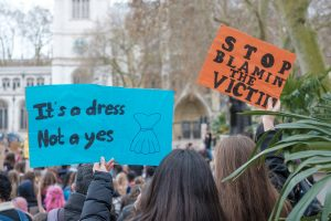 protest sexual harrassment in the workplace